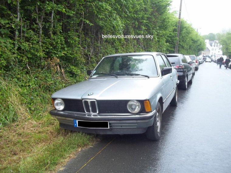 BMW série 3(Parking Course de côte Landivisiau 2012)(20/05/12)