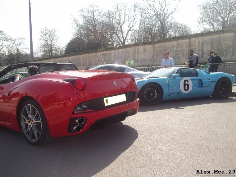 Ferrari California(Rally de Paris GT 2012 Fontaine du Trocadéro Paris)(16/03/12)