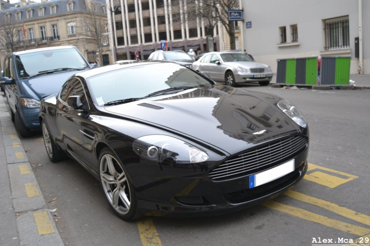 aston martin db9 paris 16 03 13 blog de bellesvoituresvues. Black Bedroom Furniture Sets. Home Design Ideas