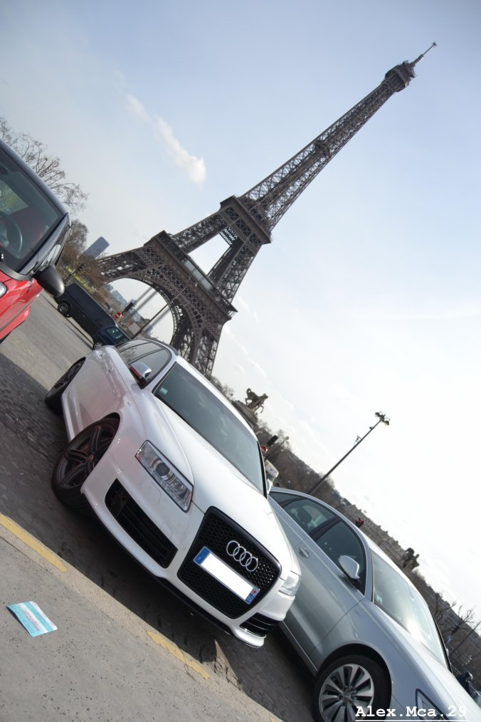 Audi RS6(Fontaine du Trocadéro Paris)(15/03/13)