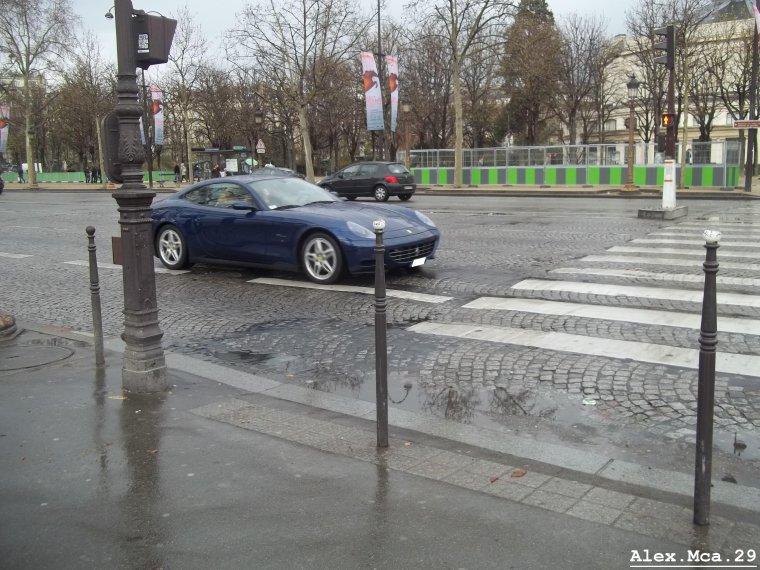 Ferrari 612 Scaglietti(Avenue des Champs Elysées Paris)(18/03/12)