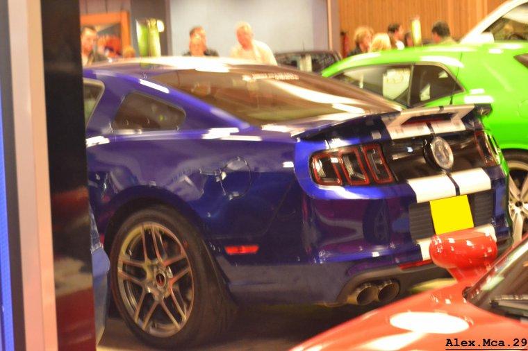 Ford Mustang Shelby GT 500(Stand American Car City Hall d'occasion Mondial de l'auto Paris 2012 Portes de Versailles)(06/10/12)