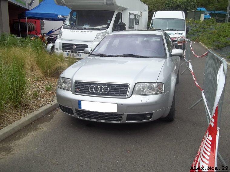 Audi S6(Course de côte Landivisiau 2012)(20/05/12)