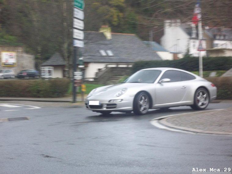 Porsche 911(Type 997) Carrera(Morlaix)(07/01/12)