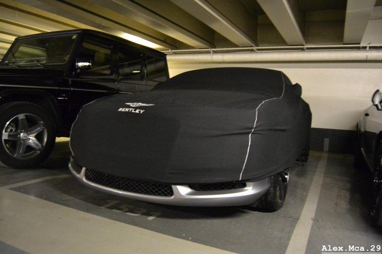Bentley Continental GT SuperSport vs Bentley Continental GT Speed(Parking Foch Avenue Foch Paris)(16/03/13)