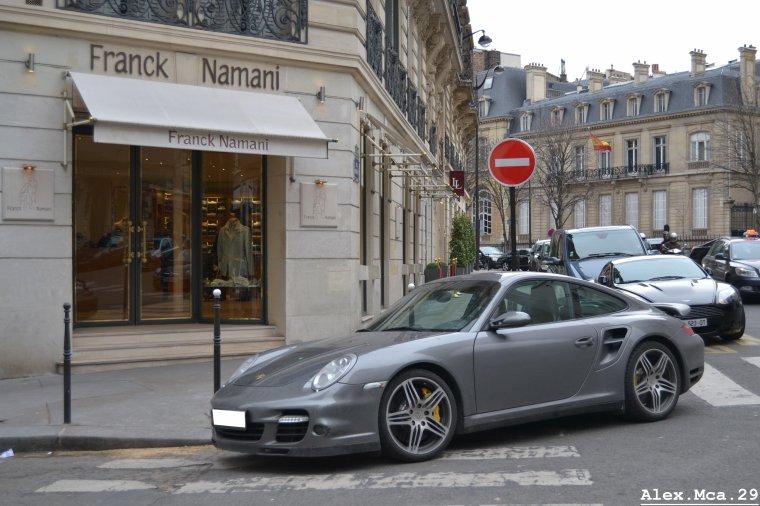 Porsche 911(Type 997) Turbo(Paris)(16/03/13)