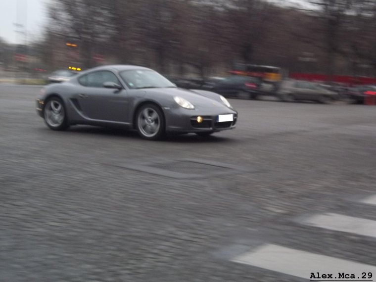 Porsche Cayman(Paris)(17/03/12)