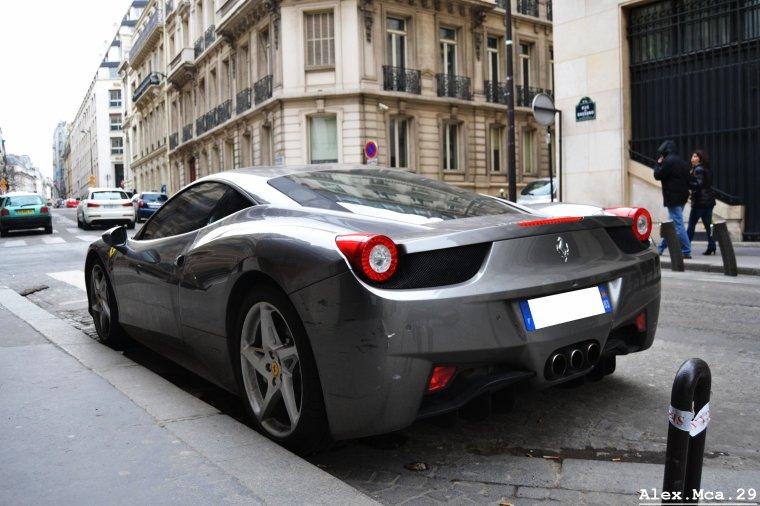 Ferrari 458 Italia(Paris)(16/03/13)