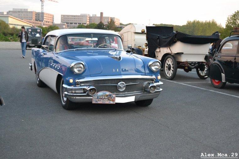 Buick Century(Tour de Bretagne Parc des expositions de Penfeld Brest)(17/05/13)