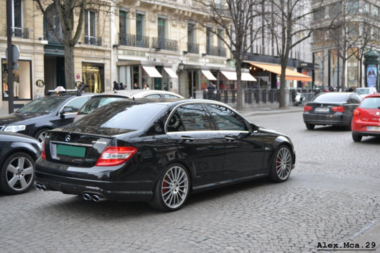Mercedes C 63 AMG(Paris)(16/03/13)
