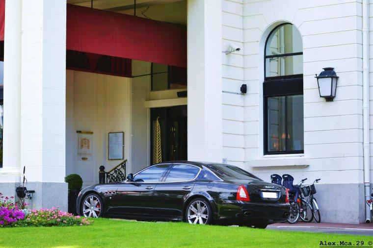 Maserati Quattroporte GTS(Hotêl L'hermitage, La Baule)(07/08/13)