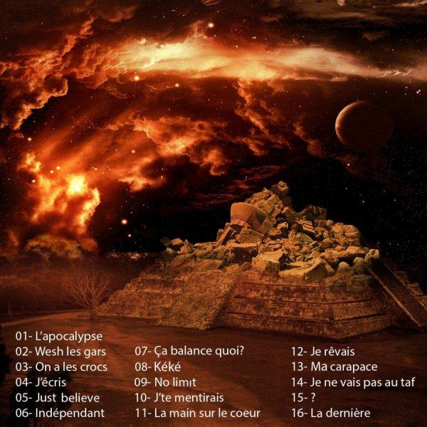 pochette de l'album du 57eme Art