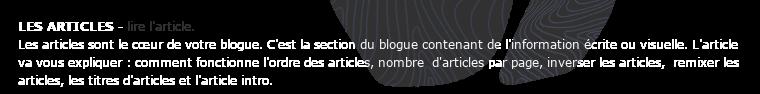 Sommaire Publier