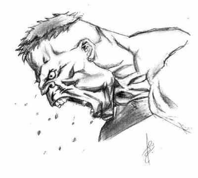 Hulk Dessin Art