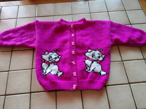 Gilet Marie Aristochats 104