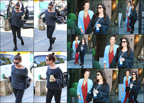 ''• '12/02/18:'' Lea Michele a été vue arrivant, puis quittant le salon de coiffure Nine Zero One dans West Hollywood.