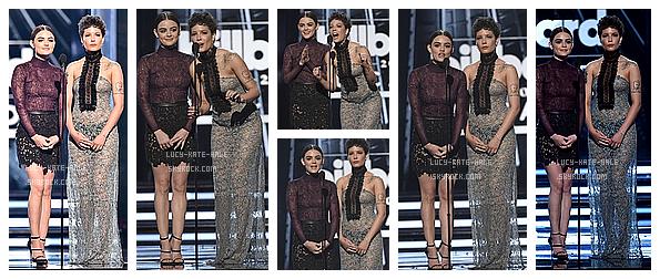------------+ 22/05/2016 : Lucy été présente lors du festival pour les 2016 Billboard Music Awards dans - Las Vegas Lucy était vétue d'une magnifique tenue assez transparente mais c'est un gros coup de coeur donc TOP ! Vidéo de l'évènement ------------+