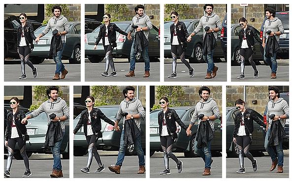 ------------+ 27/10/2016 : Lucy et Antony ont également été aperçus allant chercher un Starbucks dans - Los Angeles La tenue de Lucy était vraiment sublime ! Aucune faute de gout, vraiment j'adore son style. Gros TOP pour la miss et son copain. ------------+