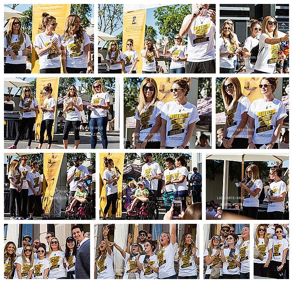 ------------+ 24/09/2016 : Lucy et Ashley Tisdaleont participé à la marche de St. Jude contre le cancer des enfants. Lucy a une nouvelle fois participé à une ½uvre caritative. Aider son prochain est une tache qui luitient beaucoup à c½ur ! TOP ! ------------+