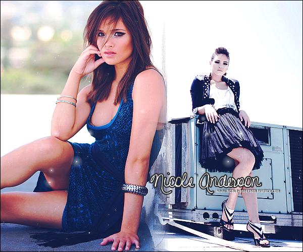 Bienvenue sur Nicole-Anderson ◊ Ta source sur la jeune actrice Nicole Anderson !