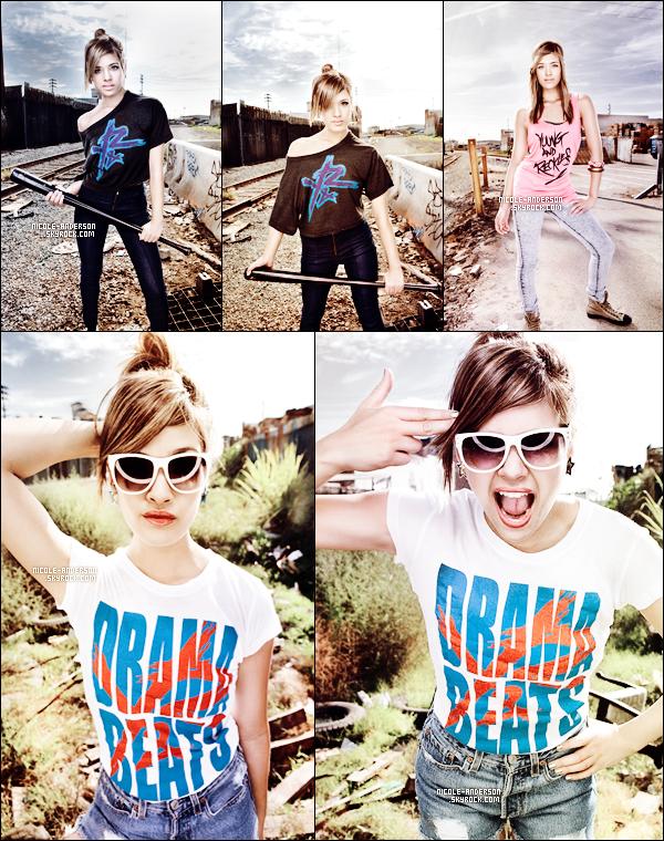 """. Découvrez un shoot de Nicole pour la marque """"Young & Reckless"""" par Corey Nickols datant de 2011. TOP ou FLOP?   ."""