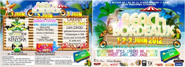 LA BEACH DE BORDEAUX CE WEEK END