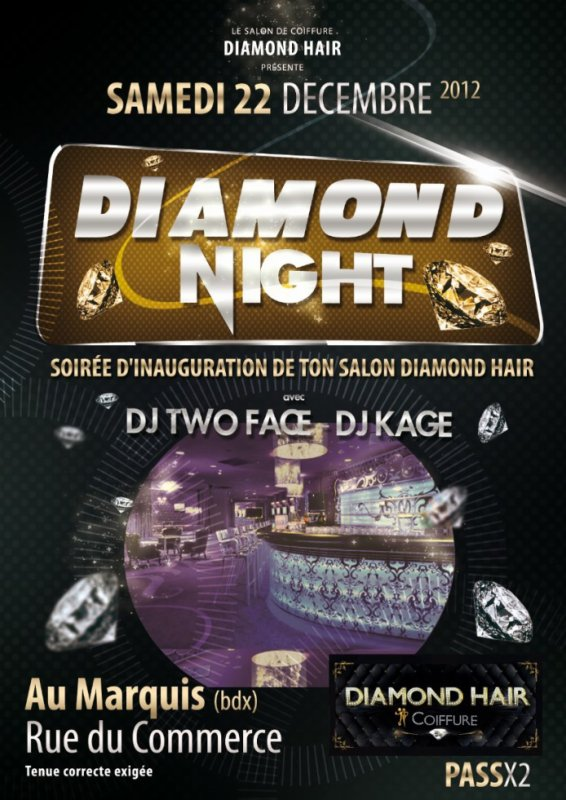 diamond night le 22 /12/2012 malaaaade