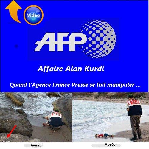 Quand l'Agence France Presse se fait manipuler …