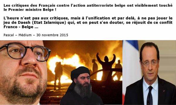 Conflit Franco - Belge …