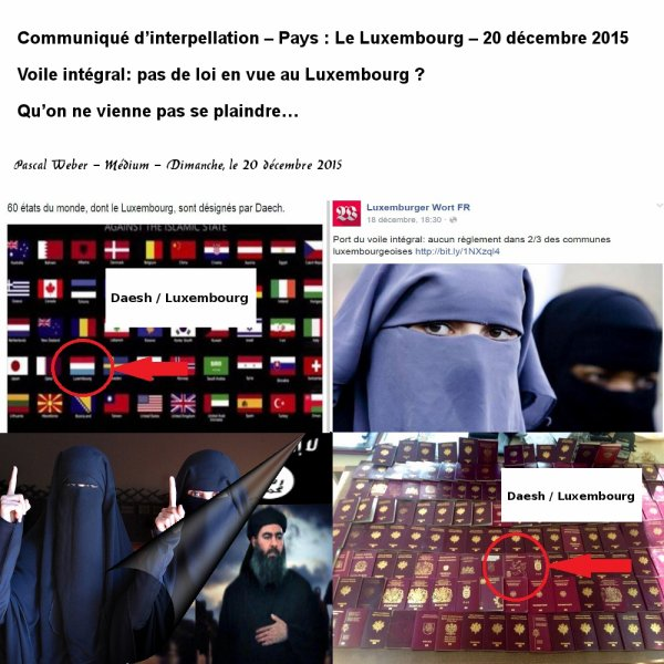 Daesh / Luxembourg