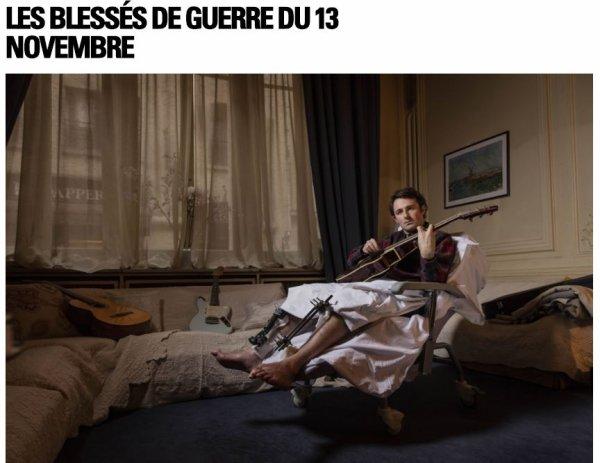 LES BLESSÉS DE GUERRE DU 13 NOVEMBRE 2015 EN FRANCE