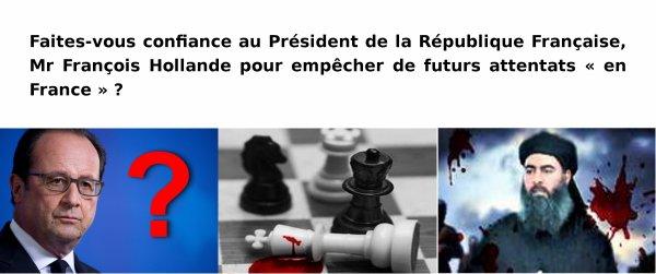 Faites-vous confiance au Président de la République Française ...
