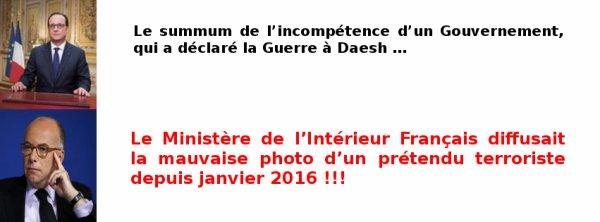 Ils sont forts aux Ministère de l'Intérieur Français !