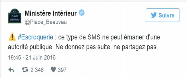 France - Attentats : ces faux SMS qui inquiètent le gouvernement Français