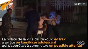 Un enfant-kamikaze interpellé en Irak avant de se faire exploser