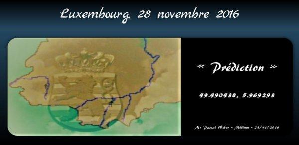 Luxembourg ... 28 novembre 2016 ...