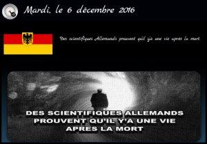 Allemagne des scientifiques …
