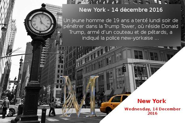 New York - 14 décembre 2016