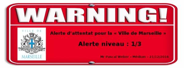 Alerte attentat, mercredi, le 21 décembre 2016 …