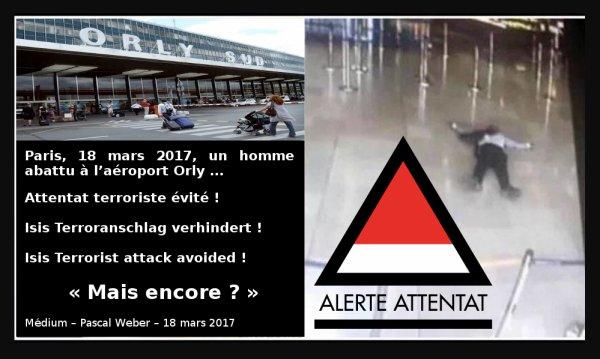 Paris, 18 mars 2017, un homme abattu à l'aéroport Orly