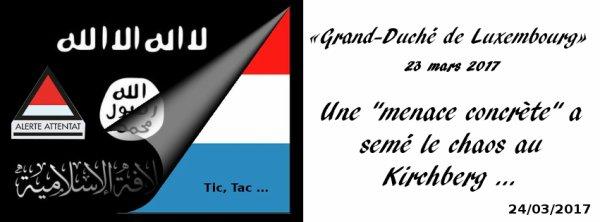 Grand-Duché de Luxembourg, Alerte Attentat