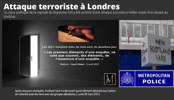 Londres Attentat : libération de la dernière personne arrêtée ...