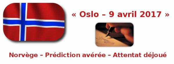 Norvège, Attentat déjoué