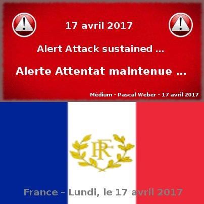 Alerte Attentat maintenue …