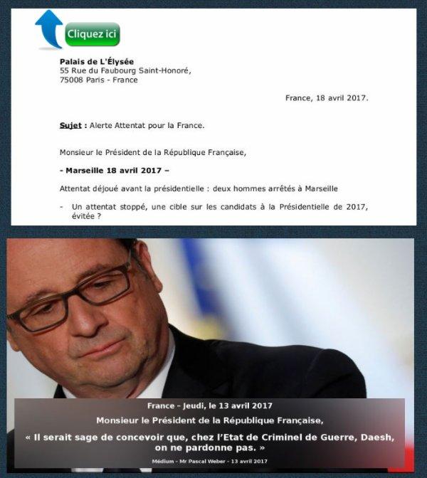 Monsieur le Président de la République Française