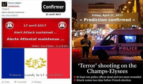 Attentat sur les Champs-Élysées ...