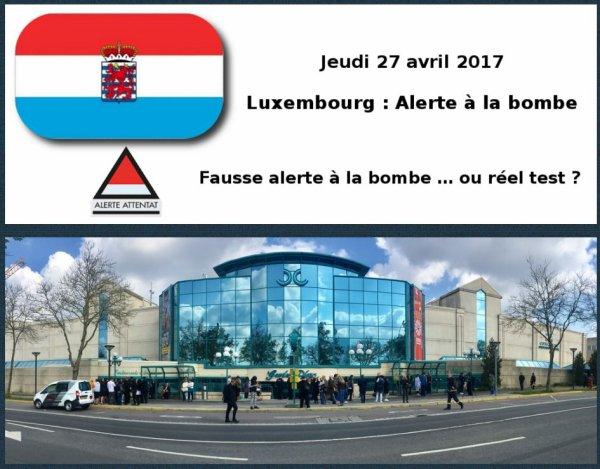 Luxembourg : Alerte à la bombe