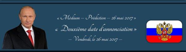 Avec du retard … 27/05/2017 01:13  ...