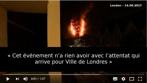 Londres incendie …