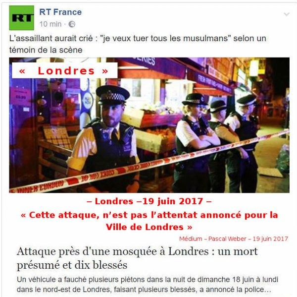 Londres -19 juin 2017 -